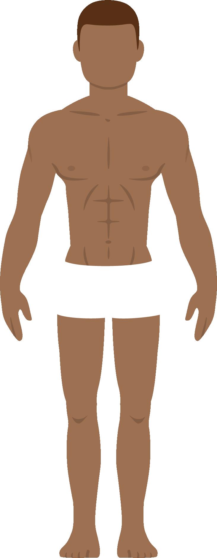 Stylised image of a man