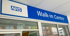Image of the NHS walk in center